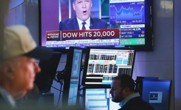 Donald Trump, Dow Jones