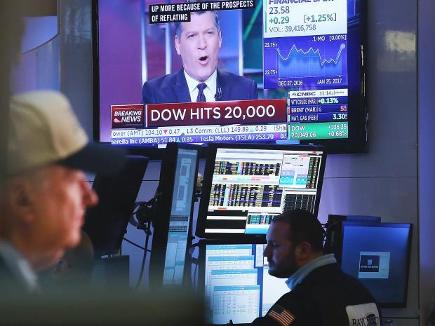 Donald Trump, Dow Jones