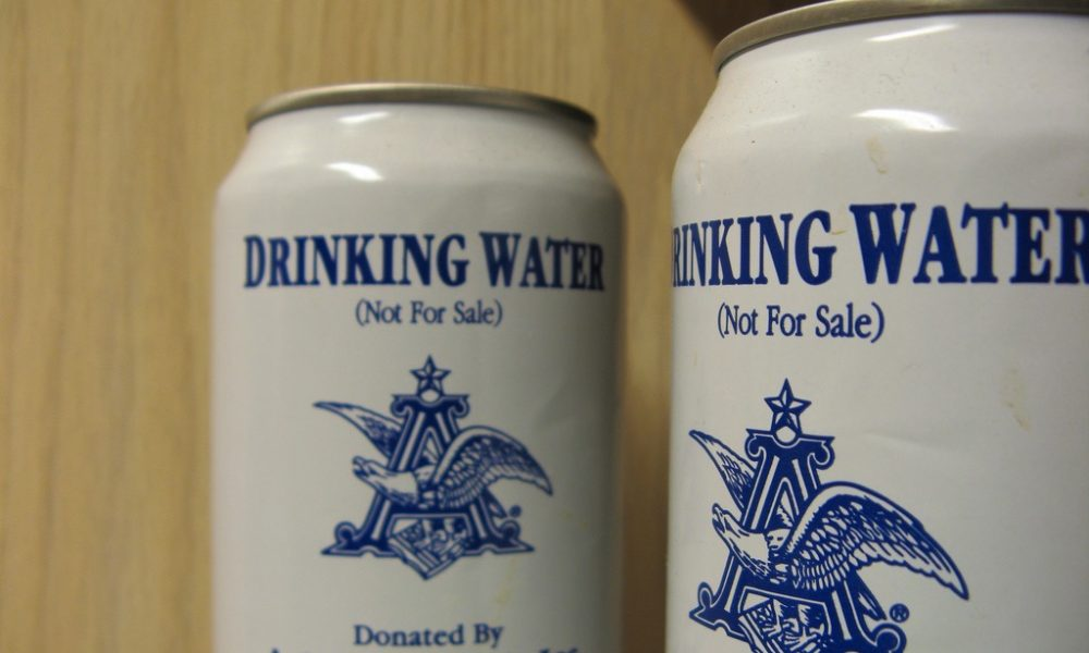 Anheuser-Busch Brewery Donates Water