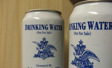 Anheuser-Busch Brewery Donates Water