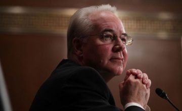 Tom Price, Senate, Hearing